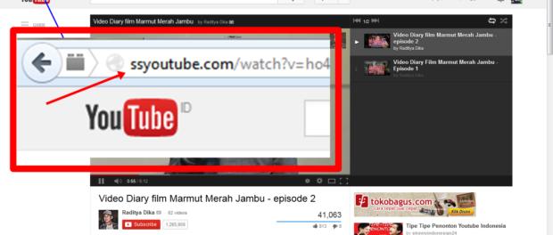 cara download film dari youtube